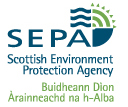 logo of Scottish Environment Protection Agency for flood alerts